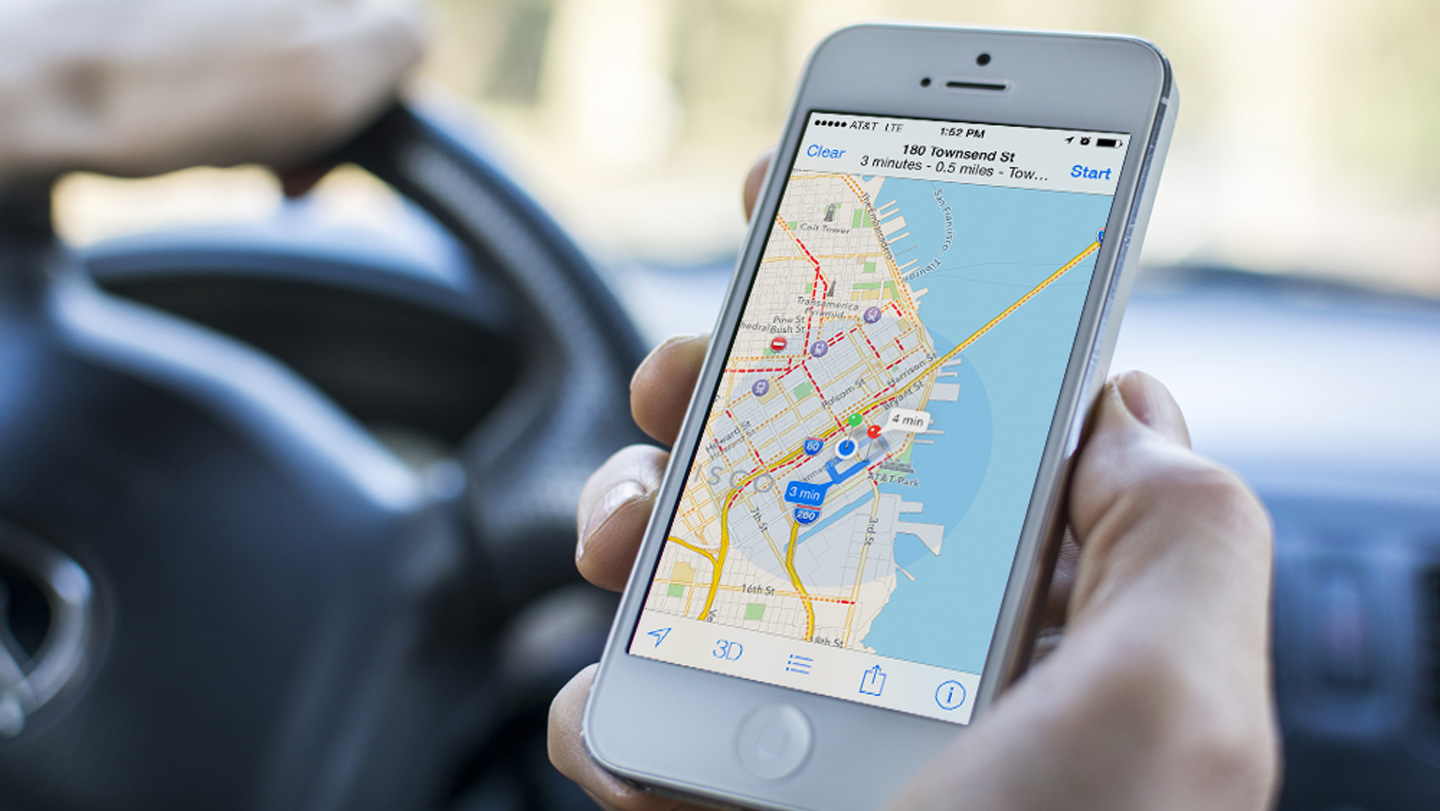 Apple Remakes Mapping App In iPhones