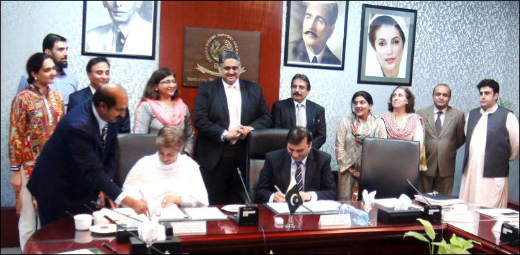 BISP, World Learning sign MoU for skills development, employment of young girls