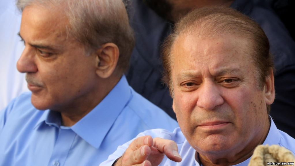 Nawaz Sharif Breaks Silence Over Arrest of Shahbaz Sharif