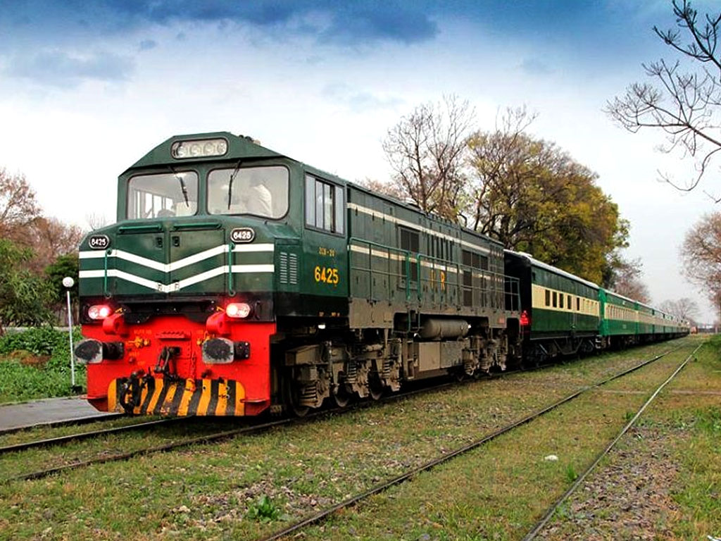 Sheikh Rasheed Launched Rahman Baba Express Train From Karachi to Peshawar