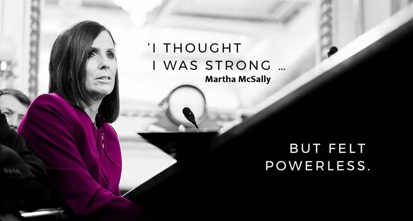American Senator One Of My Chief Officers Had Sexually Abused Me says Martha McSally